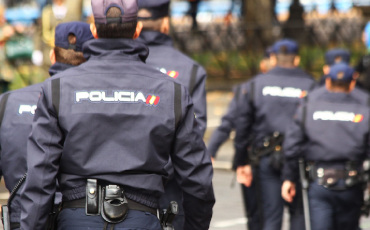 Transcripciones de chino Dependencias policiales